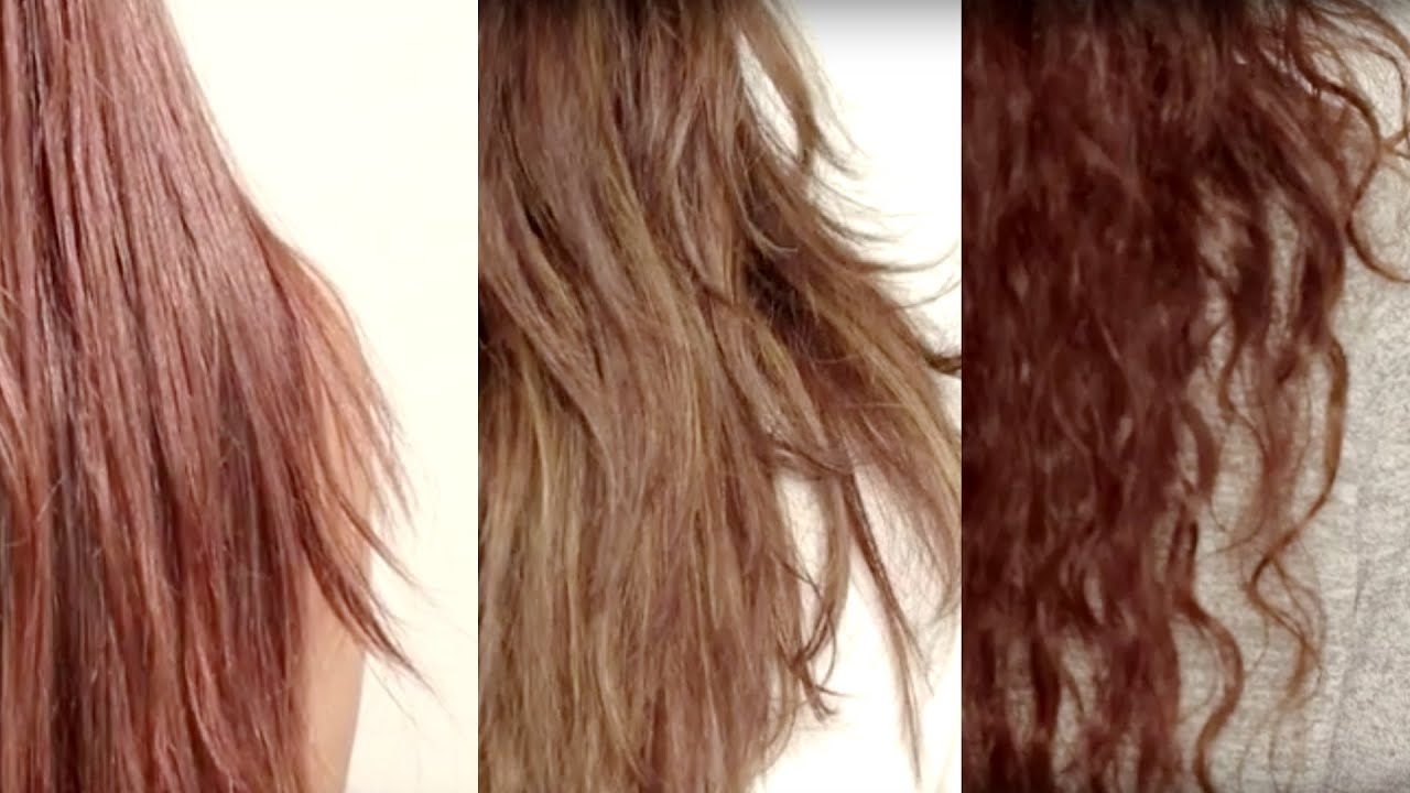 How To Find Your Hair Type Hair Care Tips For Straight
