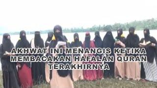 Video Sedih! Wanita Bercadar Ini Menangis Ketika Membacakan Hafalan Quran Terakhirnya download MP3, 3GP, MP4, WEBM, AVI, FLV Oktober 2018