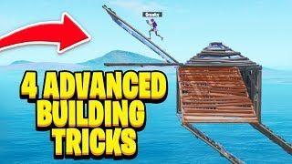 4 Advanced Building Tricks I Wish I Knew Earlier! (Fortnite Building Tips & Tricks)
