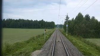 Rataosavideo Pori-Tampere