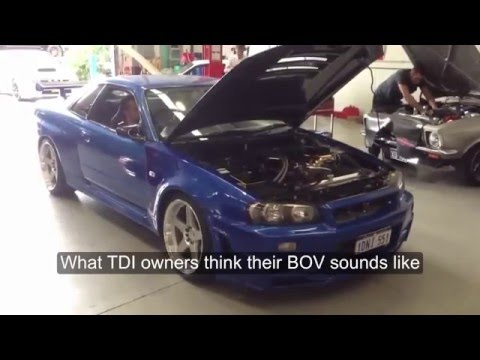When people install a BOV on a TDI