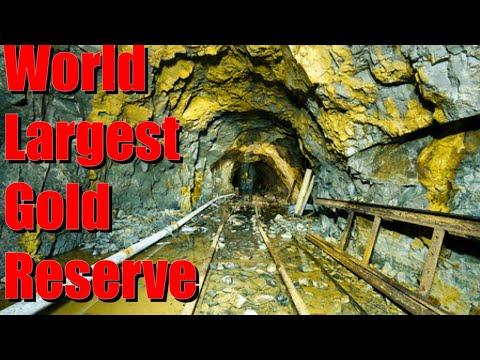 World Largest known gold reserve Grasberg mine