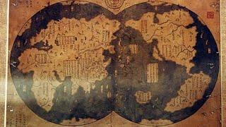 [Reupload] Odkryto starożytną chińską mapę sprzed 4000 lat isą naniej obie Ameryki