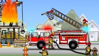 เกมส์ รถดับเพลิง ทำภารกิจ ช่วยชีวิต ดับไฟไหม้ - Fire Truck