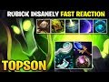 TOPSON Show us His Fast Reaction with Rubick MID