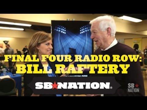 Final Four Radio Row - Bill Raftery