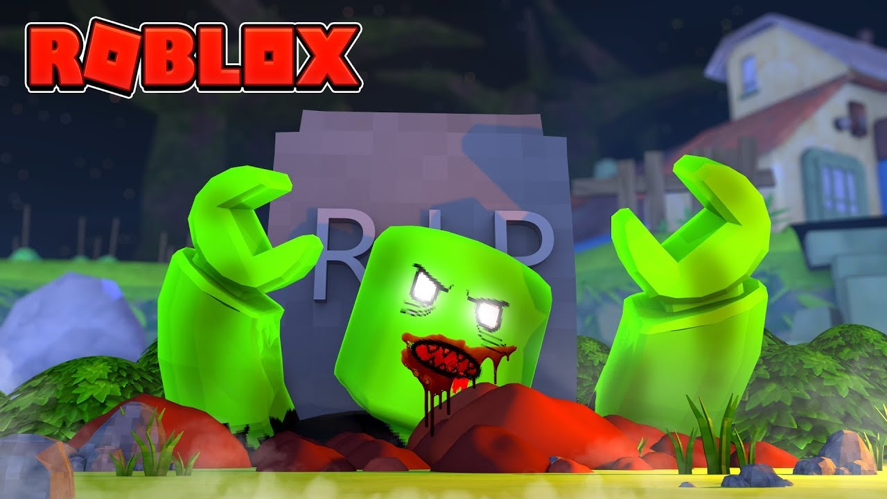 ZOMBIES COME BACK TO LIFE IN ROBLOX! (Roblox Halloween Tycoon)