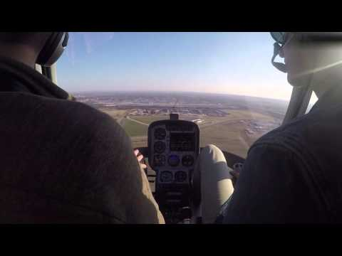 MHA - Approaches, hover work, radio calls - Guimbal Cabri G2
