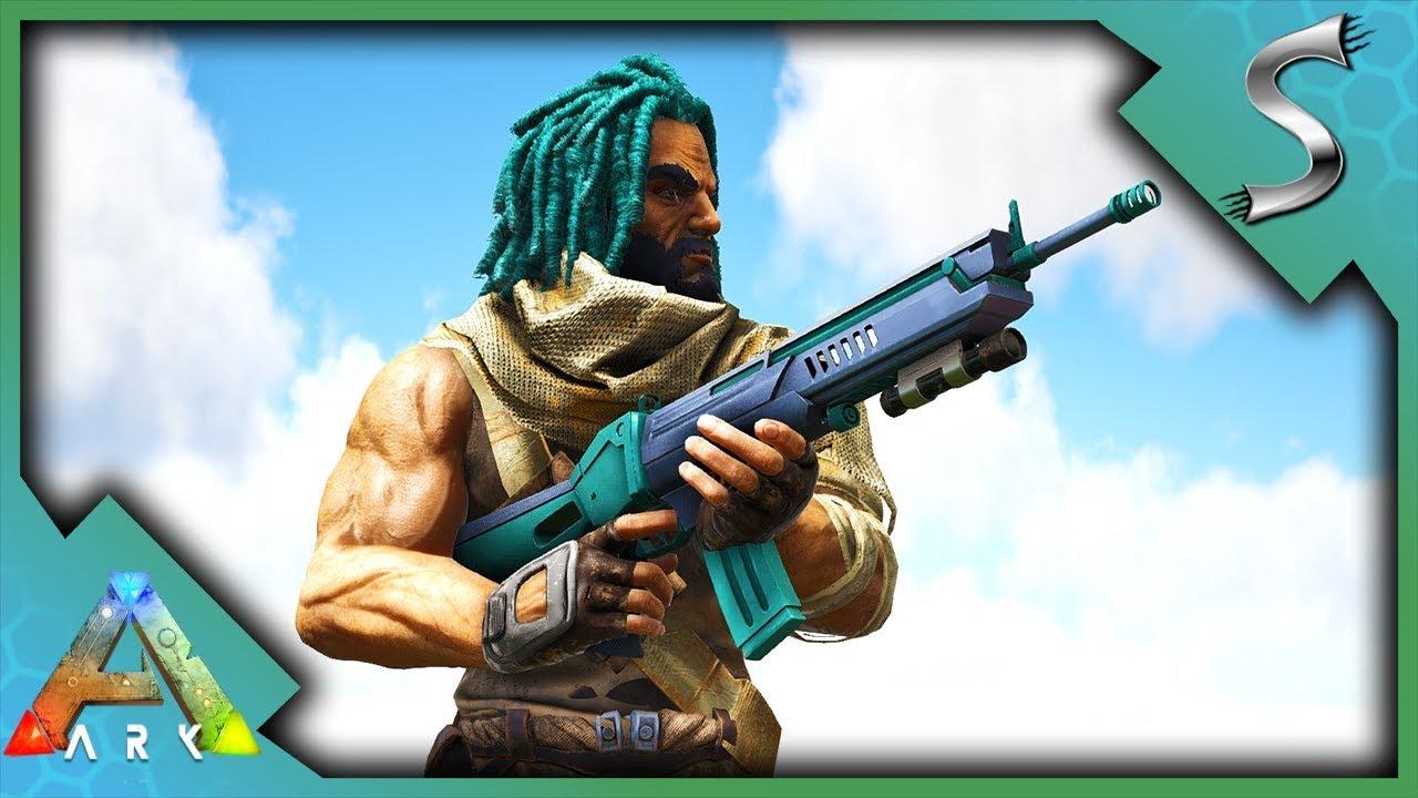 Download ASCENDANT ASSAULT RIFLE! CAVING + ALPHA REX KILL! - Ark: Survival Evolved [S4E58]