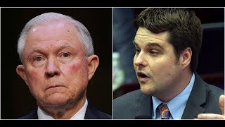 Rep. Gaetz GRILLS AG Jeff Sessions on Appointing a Special Prosecutor to Investigate Hillary Clinton Free HD Video