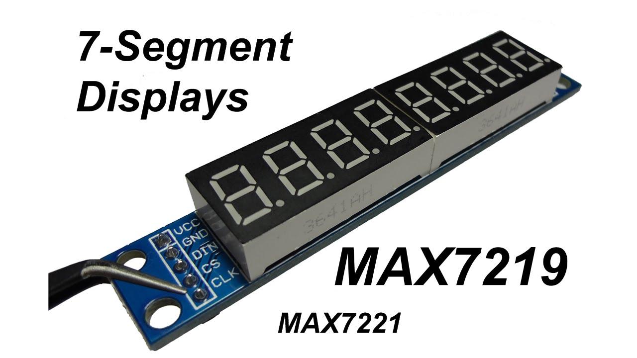 MAX7219 7-Segment Display