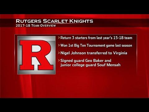 2017 Basketball Media Days - Rutgers