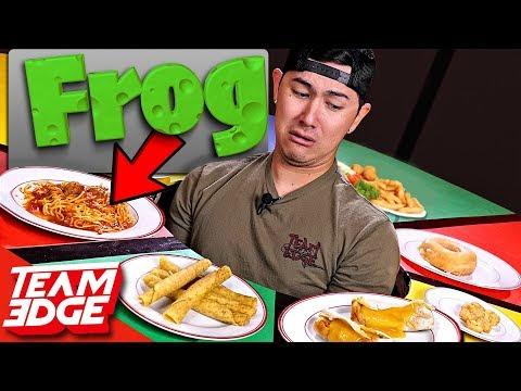 Eating Disgusting MYSTERY Ingredients in Normal Looking Food!!