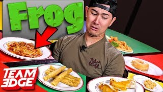 Eating Disgusting MYSTERY Ingredients in Normal Looking Food!!