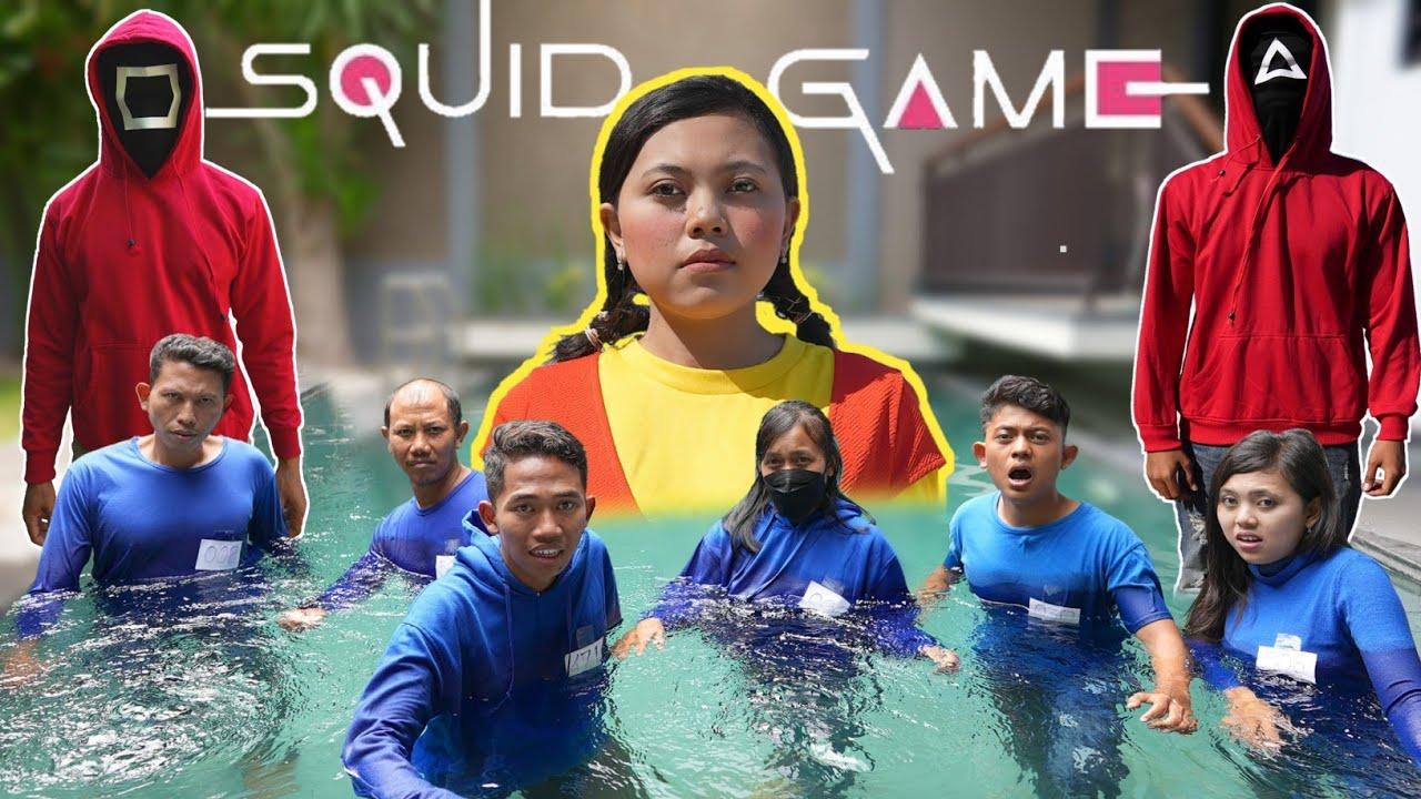Download SQUID GAME PARODI DIKOLAM RENANG😱   YANG BERGERAK DAPAT HUKUMAN, HIKZ SEDIH!   Mikael TubeHD