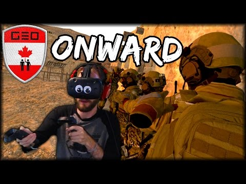REALISTIC WAR GAME IN VIRTUAL REALITY | HTC VIVE Gameplay (Onward)