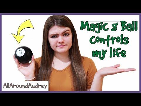 Mystery Magic 8 Ball Controls My Life Challenge / AllAroundAudrey