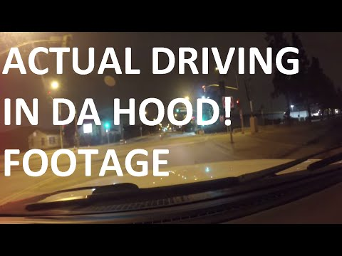 Driving In Los Angeles Compton,Watts,SouthCentral,IngleWood at 3 AM 1080P (Official)