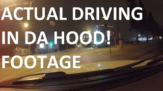 Driving In Compton,Watts,SouthCentral,IngleWood at 3 AM 1080P