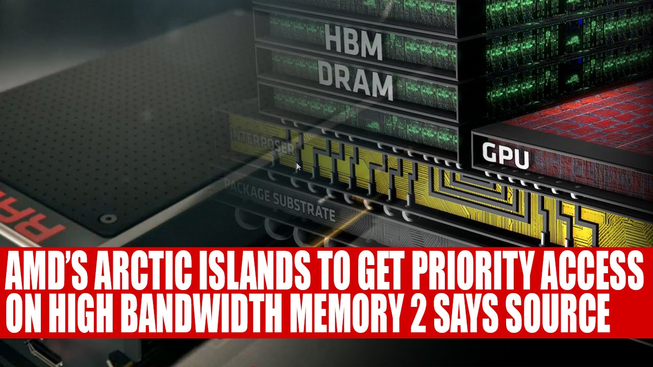 Gpu s gets priority access to hbm2 according to sources youtube