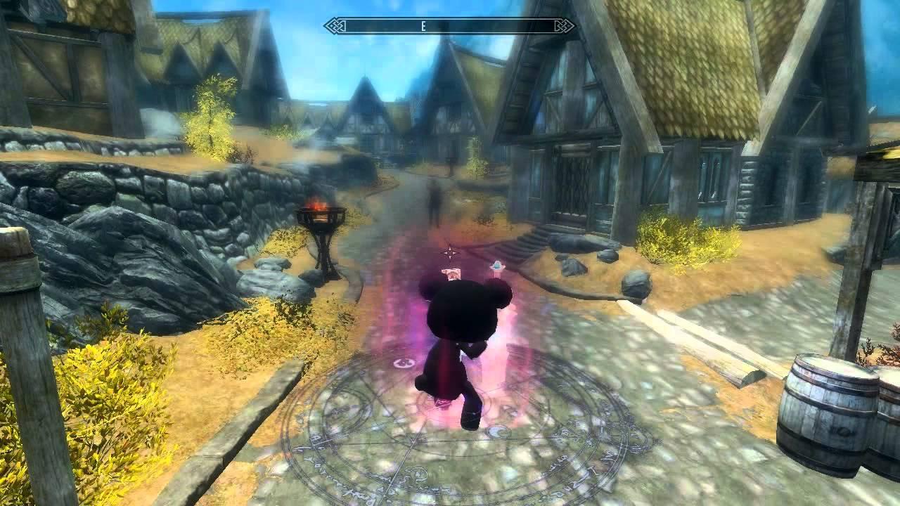 Skyrim MOD : Dragon Slave V2 by Gorilla K