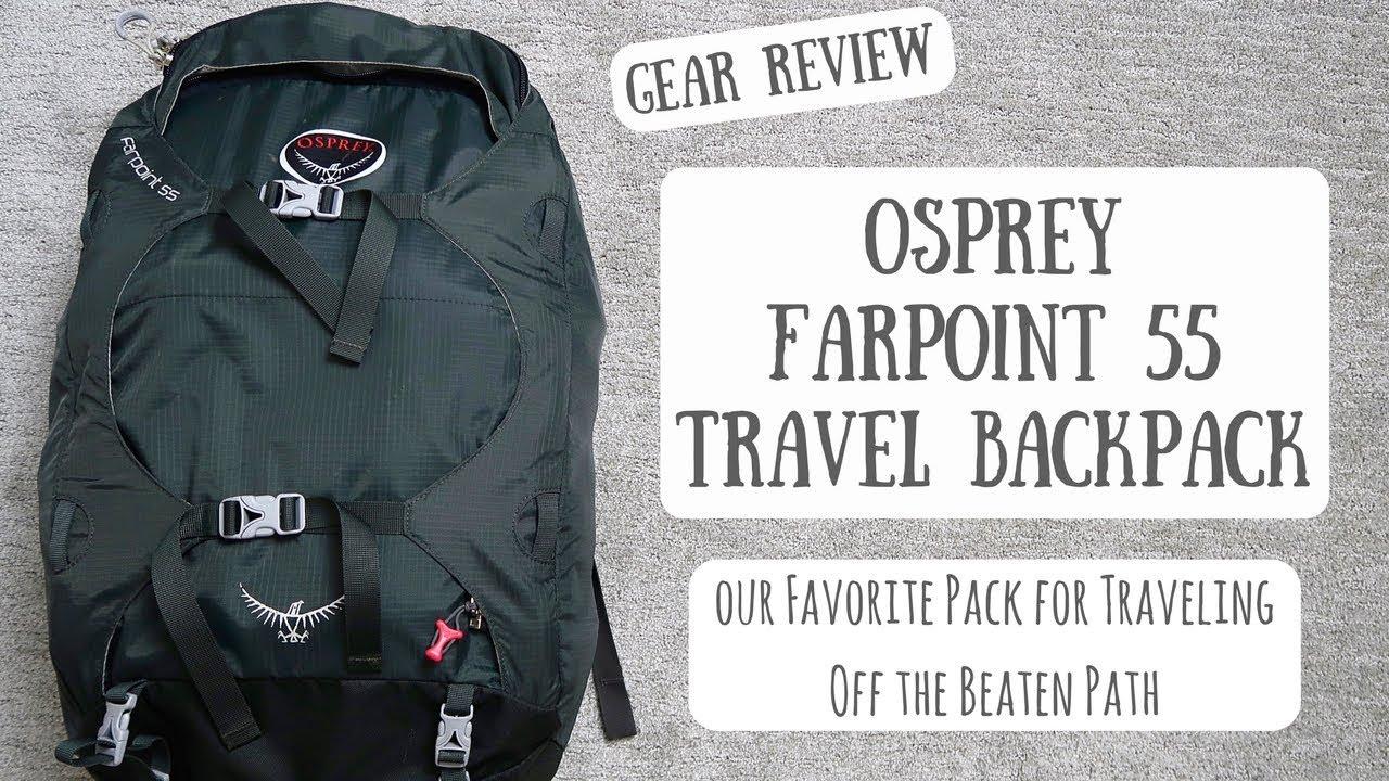 e78d9ec32a92 Osprey Farpoint 55 Travel Backpack