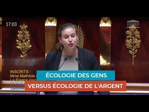 ÉCOLOGIE DES GENS VS ÉCOLOGIE DE L'ARGENT