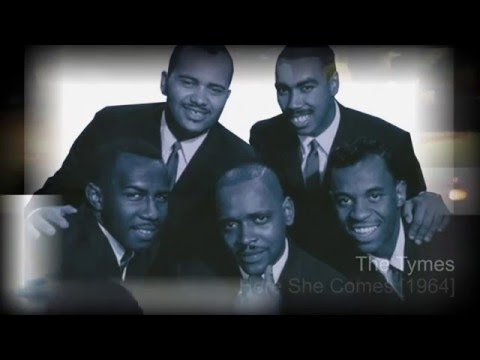 The Tymes -- Here She Comes [1964]....HD.