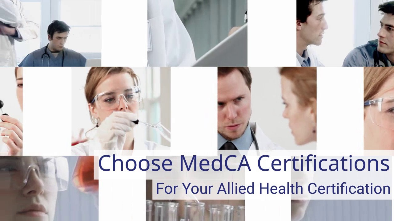 Choose Medca Certifications Youtube