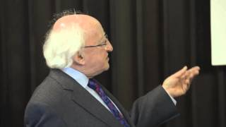 President of Ireland, Michael D. Higgins address at the University of Limerick