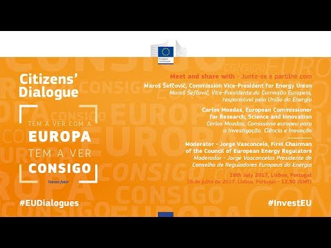 ENG - Citizens' dialogue - 18th July 2017 - Lisbon, Portugal