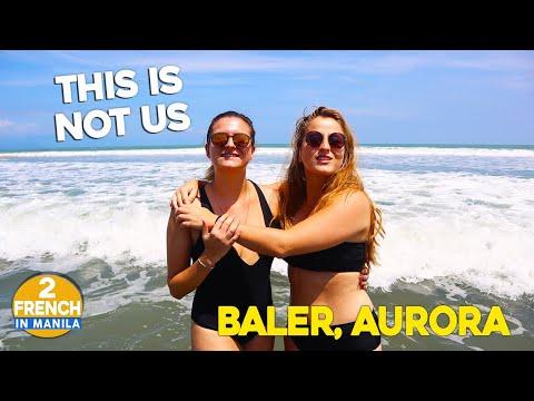 EXPLORING BALER,  AURORA - Best SURFING SPOT In Luzon PHILIPPINES