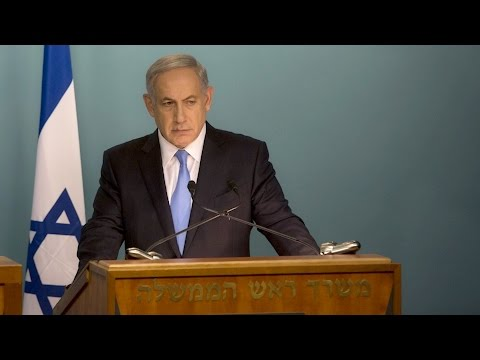Netanyahu and Merkel hold joint press conference in Berlin