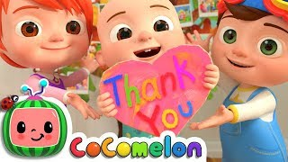 Thank You Song | CoCoMelon Nursery Rhymes & Kids Songs thumbnail