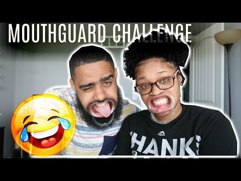 HILARIOUS MOUTH GUARD CHALLENGE!!!!!