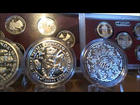 Royal Silver Company Complete 5 Coin Set .99999's