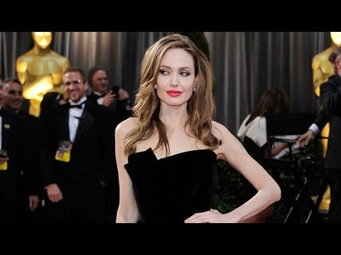 Angelina Jolies Sexiest Black Dresses of All Time | Fashion Flash