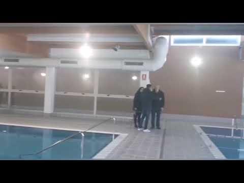 Gran expectación para conocer la piscina cubierta de Sarria