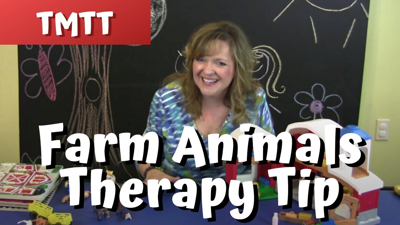 Farm Animals! Speech Therapy for Toddlers Late Talkers  Therapy Tip of the  Week