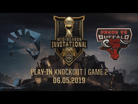 TL vs PVB [MSI 2019][06.05.2019][Play-in Knockout][Game 2]