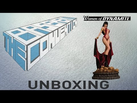 Women of Dynamite: Vampirella statue Unboxing [Limited]