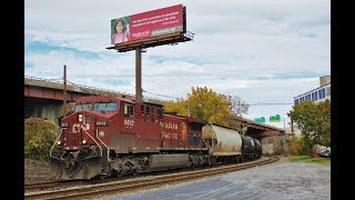 Canadian Pacific, NS & Amtrak on the D&H