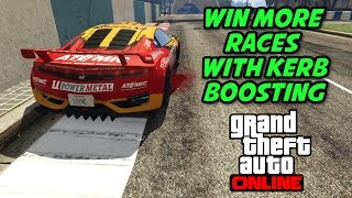 GTA 5 Online - Win More Races with Kerb / Curb Boosting - GTA Tips and Tricks Series