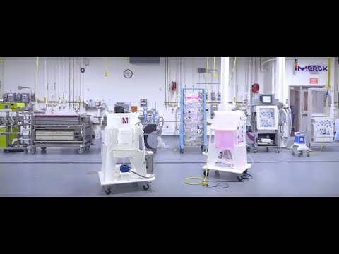 We visited Merck's M-Lab facility