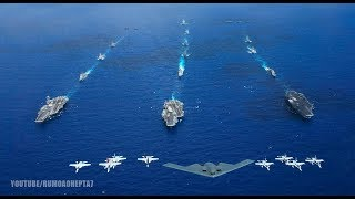 US Military Provocation: Three US Aircraft Carriers Enter South Korea in Joint Drills