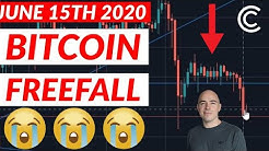 BITCOIN TANKS BELOW $9,000 - Bitcoin Today [June 15th 2020]