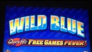 Video WILD BLUE slot machine Max bet bonus and QuickHit WINS (2 videos) download MP3, 3GP, MP4, WEBM, AVI, FLV Januari 2018