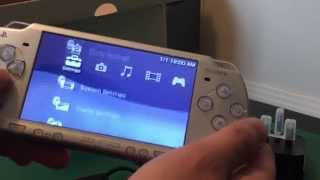 PSP 2006 Slim Ice Silver Unboxing! ( 2015 )