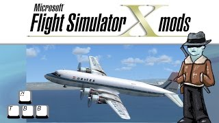 Flight Simulator X Plane Spotlight - Douglas DC-6