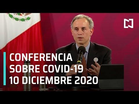 Conferencia Covid-19 en México - 10 diciembre 2020